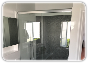 Semi Frameless Shower Screens